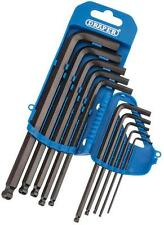 Draper 10pc Metric Ball End Ended Hexagon Hex Key Set 33694