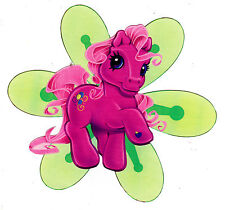 """5-8"""" MY LITTLE PONY FLOWER  STICKER WALL SAFE CHARACTER CUT OUT"""