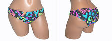 Swimsuit Bikini Bottom NEW Women Junior Small Medium Large ROXY Black Blue S897