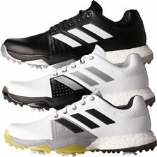 Adidas 2017 Adipower Boost 3 Mens Spikes Waterproof Leather Golf Shoes-Wide Fit