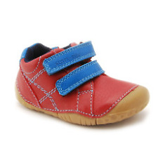 Start-rite Boys Baby Milan Red Leather Pre-walker