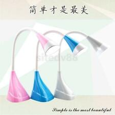 USB Rechargeable Touch Sensor LED Light Desk Table Reading Lamp 3 Colors