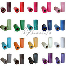 """5 TULLE Rolls Spool 6""""x25yd Tutu Wedding Decoration Party Bow 6""""x75'Colours Pick"""
