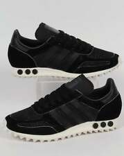 Adidas Originals - Adidas LA Trainer OG in Black & Grey - retro old skool pegs