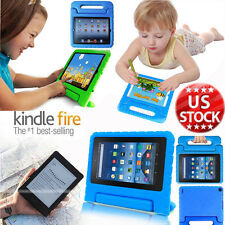 Kids Shockproof EVA Foam Handle Case Cover for Amazon Kindle Fire HD 7 Tablet