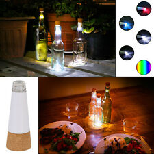 Hot Multi-color Cork Shaped Rechargeable USB LED Night Light Wine Bottle Lamp