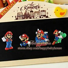 Cute 100PCS Super Mario Refrigerator Magnets,Magnetic Stick Fridge Magnets,Gifts