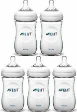 Avent NATURAL FEEDING BOTTLES 260ML Baby/Toddler Bottle 2 Pack/3Pack  - New