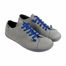 Camper Peu Cami Mens Gray Leather Lace Up Sneakers Shoes