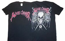 ALICE COOPER - Skull Wings - T SHIRT S-M Brand New - Official T Shirt