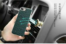 Luxury Ultra Slim Thin Genuine Cow Leather Leather Chrome Case For iphone 7 Plus