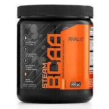 Rivalus STEAM BCAA Amino Acids Glutamine CITRULLINE - 30 Servings PICK FLAVOR