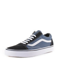 Mens Vans Old Skool Navy Skate Fashion Classic Retro Trainers Shoes Sz Size
