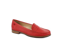 Marc Joseph Women's East Village Loafer Moccasin Shoes - (Coral)*