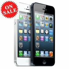 (NEW BOX) Apple iPhone 5/4S 16G 32G 64G Mint Excellent Black White Smartphone Y7