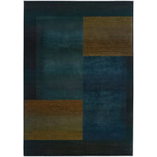 RUGS AREA RUGS CARPET AREA RUG FLOOR DECOR MODERN ABSTRACT BLUE RUGS NEW