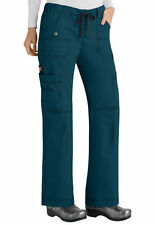 Dickies Medical Scrubs Women's Gen Flex Caribbean Blue Cargo Pant Sz XS-XXL NWT