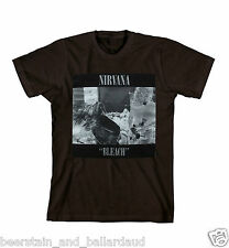 Nirvana Bleach heavyweight t-shirt LICENSED/OFFICIAL and Brand New! Sub Pop