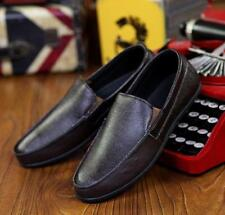 Fashion Mens flat Korean slip on moccasin-gommino Comfy Shoes driving loafer