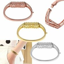 Stainless Steel Replacement Bangle Band Bracelet Strap with Box Fr Fitbit Flex 2