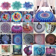 Hippie Indian Tapestry Wall Hanging Throw Bedspread Bohemian Ethnic Art Yoga Mat