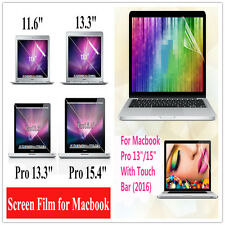 HD LCD Clear Front Screen Protector Film Skin Guard for Apple Macbook Model Lot