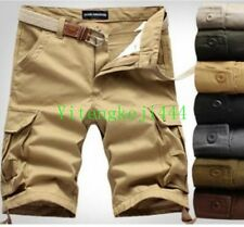 HOT SALE Mens Pockets Cargo Casual Outdoors Beach Overalls Shorts Pants Size New
