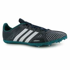adidas adizero Ambition Athletics Running Spikes Mens Nvy/Wht/Grn Sport Shoes