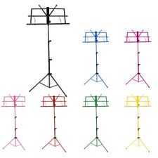 Metal And Plastic Music Sheet Stand Adjustable Folding for Musician Kids