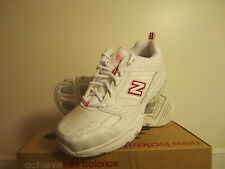 New! Womens New Balance 608 v2 Sneakers Shoes white pink - 9.5
