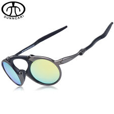 SUNNCARI Men Polarized Cycling sunglasses Alloy Frame Sport Riding Eyewear 6019