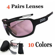 4Lens Pocs Bicycle Glasses Polarized UV400 TR90 Sport Cycling Eyewear Sunglasses