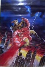THE ROCKETEER POSTER BY DAVE STEVENS AND DAVE DORMAN