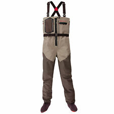 Redington Sonic-Pro HDZ Fly Fishing Wader Clay/Dark Earth w Articulated Knee