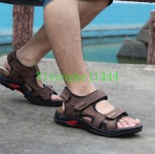 Men's Hiking Shoes Sport  Leather Summer Open Toe Sandles Sandals all size Hot Y