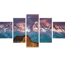 "5Pcs/Set HUGE MODERN ABSTRACT WALL DECOR ART PAINTING ON CANVAS ""no frame"" PICK"