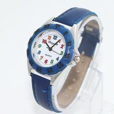 Student Girl Boy Kids Learn Tell To Time Teacher Wristwatch Back School U48