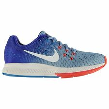 Nike Air Zoom Structure 19 Running Shoes Womens Blue/Wht Trainers Sneakers