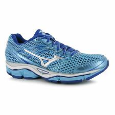 Mizuno Wave Enigma 5 Running Shoes Womens Blue/Sil Trainers Sneakers Sports Shoe