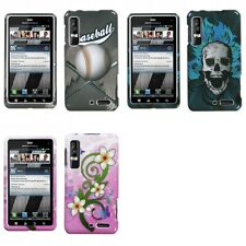 For Motorola Droid 3 XT862 Design Snap-On Hard Case Phone Cover