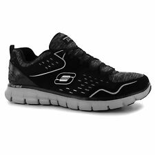 Skechers Synergy Modern Movement Trainers Womens Blk/Wht Sneakers Sports Shoes