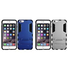 For Apple iPhone 6/6S [4.7] Hybrid Shockproof Future Armor Phone Case Kickstand
