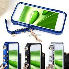 New Aluminum Metal Hard Frame Bumper Cleave Case Cover For Apple iPhone 5 DZ801