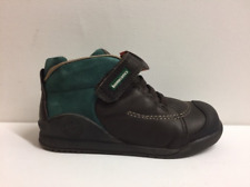 Biomechanics Boys 161163 Green / Brown Leather Boots