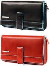 Women's Wallet Horizontal With Coin Purse Piquadro Wallet Woman Pocket PD135