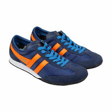 Gola Wasp Mens Blue Suede & Nylon Lace Up Trainers Shoes