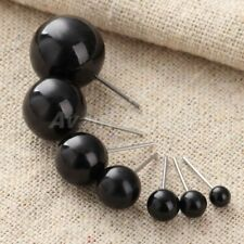 50pcs Needle Type Doll Eyes Plastic Iron Wire For Teddy Bear Puppet Hand Craft