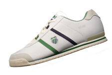 K Swiss SI-16 Mens Leather Sneakers / Casual Sports Shoes - White