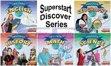 Age 9+ Superstart DISCOVER SERIES Grade School HomeStudy Windows XP Vista 7 8 10