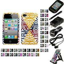 For Apple iPhone 4/4S Design Snap-On Hard Case Phone Cover Accessories
